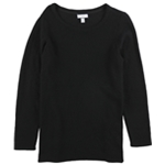 Charter Club Womens Textured Tunic Sweater