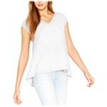 Rachel Roy Womens Asymmetrical Pullover Blouse