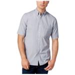 Club Room Mens Micro-Stripe Button Up Shirt