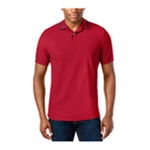 Club Room Mens Sporty Pique Rugby Polo Shirt