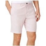 Club Room Mens Pinstripe Casual Chino Shorts