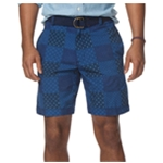 Chaps Mens Patchwork Casual Walking Shorts