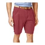 Club Room Mens Double-Pleated Casual Chino Shorts