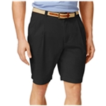 Club Room Mens Double Pleated Casual Chino Shorts
