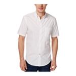 Club Room Mens Barry Dot Print Button Up Shirt