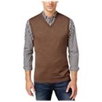 Club Room Mens Knit V Neck Sweater Vest