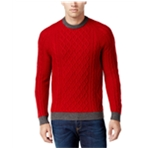 Club Room Mens Cable Knit Pullover Sweater