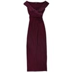 Ralph Lauren Womens Evening Sheath Dress
