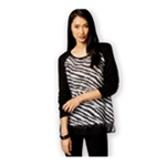 Style&co. Womens Eyelash-Knit Pullover Sweater