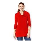 Style&co. Womens Cowl Handkerchief-Hem Pullover Sweater