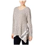 Style&co. Womens Handkerchief-Hem Pullover Sweater