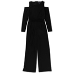 American Living Womens Cold-Shoulder Jumpsuit