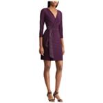 American Living Womens Jersey Ruffled Dress