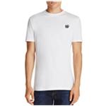 McQ Mens Swallow Badge Embellished T-Shirt