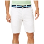 Club Room Mens Stretch Casual Chino Shorts