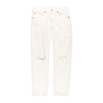 Ralph Lauren Womens Ripped Boyfriend Fit Jeans