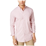Club Room Mens Dot Button Up Shirt