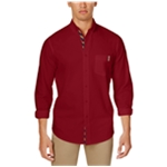Club Room Mens Classic Button Up Shirt