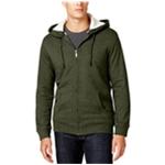 Club Room Mens Sherpa-Lined Hoodie Sweatshirt