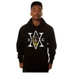 Black Scale Mens The Mona's Traditional Interlock Logo Hoodie Sweatshirt