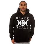 Black Scale Mens The Lunarology Pullover Hoodie Sweatshirt