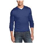 Club Room Mens Merino-Wool V-Neck Pullover Sweater