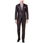 Kenneth Cole Mens Basketweave Two Button Formal Suit