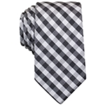 Perry Ellis Mens Williams Check Classic Necktie