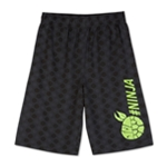 Nickelodeon Boys TMNT #NINJA Athletic Workout Shorts