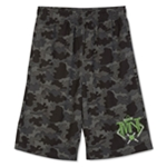 Nickelodeon Boys TMNT Camo Athletic Workout Shorts
