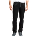 William Rast Mens Coated Slim Fit Jeans