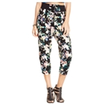Material Girl Womens Printed Cropped Casual Trousers