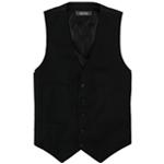 Kenneth Cole Mens Pinstripe Five Button Vest
