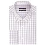 Geoffrey Beene Mens Regular Fit Checked Button Up Dress Shirt