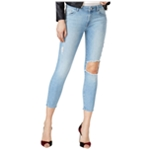 DL1961 Womens Ripped Cropped Jeans