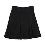 Alfani Womens Lace A-line Skirt