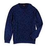 Tasso Elba Mens Leaf Print Knit Sweater
