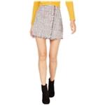 Leyden Womens Tweed Mini Skirt