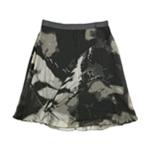 Alfani Womens Printed A-line Skirt