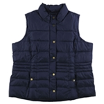 Charter Club Womens Casual Quilted Vest