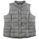 Charter Club Womens Printed Puffer Vest