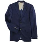 Tasso Elba Mens Linen Two Button Blazer Jacket