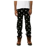 Black Scale Mens The Pirate Bundy Casual Trousers
