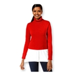 Style&co. Womens Layered-Look Turtleneck Pullover Sweater