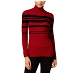 Style&co. Womens Striped Pullover Sweater