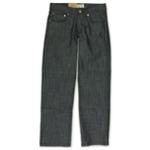 Ecko Unltd. Mens Core Relaxed Raw Coastal Straight Leg Jeans