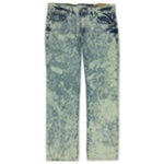 Ecko Unltd. Mens Eliminator Wash Fit Bleached Straight Leg Jeans