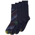 Gold Toe Mens 4 Pack Tartan Plaid Dress Socks