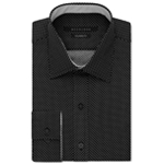 Sean John Mens Classic-Fit Button Up Dress Shirt
