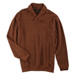 Tasso Elba Mens French-Ribbed Shawl Sweater